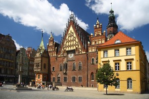 City Hall in Wroclaw (Poland)